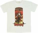 Presidential Monsters Baracula T Shirt Sheer