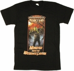 Presidential Monsters Watergate Lagoon T Shirt Sheer