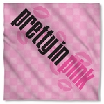 Pretty in Pink Kiss Me Bandana