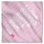 Pretty in Pink The List Bandana