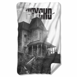 Psycho House Fleece Blanket