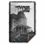 Psycho House Throw Blanket