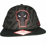 Punisher Animal Print Hat