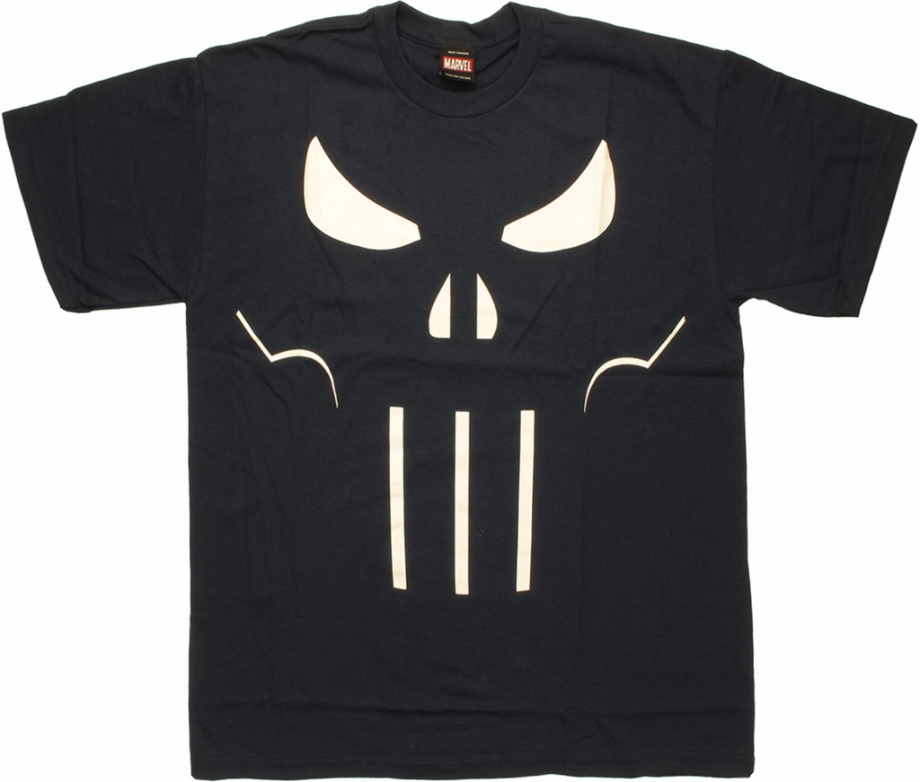 Punisher Beyond Shadow Navy T Shirt