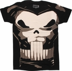 Punisher Classic Costume T Shirt Sheer
