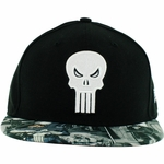 Punisher Comic Visor 59Fifty Hat