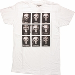 Punisher Emotion Skulls T Shirt Sheer