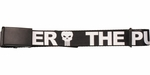 Punisher Large Print Name Mesh Belt