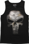 Punisher Movie Skull Tank Top