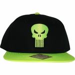 Punisher Neon Skull Hat