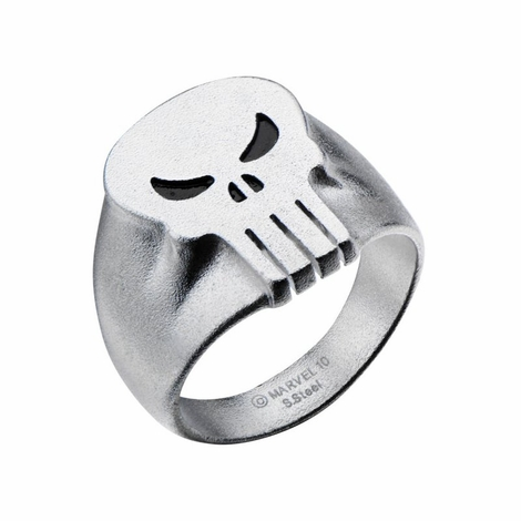 Punisher Raised Skull Ring