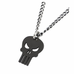 Punisher Skull Stainless Steel Necklace