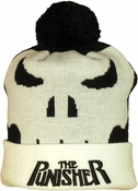 Punisher Woven Head Cuff Beanie