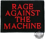 Rage Against the Machine Name Patch