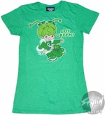 Rainbow Brite Got Green Baby Tee