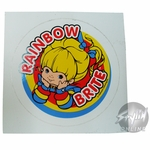Rainbow Brite Lying Sticker