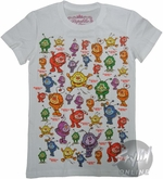 Rainbow Brite Puffy Guys Baby Tee