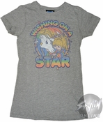 Rainbow Brite Wishing Baby Tee