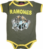 Ramones Group Snap Suit