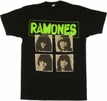 Ramones Group T Shirt Sheer