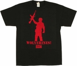 Red Dawn Gun T-Shirt