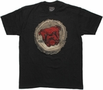 Red Dog Bottle Cap T Shirt