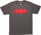 Red Hood Batman Arkham Knight Logo T-Shirt