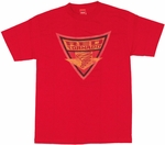 Red Tornado Shield T Shirt