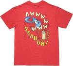 Regular Show Awww Yeahuh T Shirt