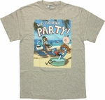 Regular Show Beach Party T Shirt