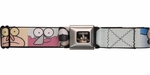 Regular Show Close Faces Square Seatbelt Belt