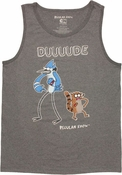 Regular Show Duuuude Heather Tank Top