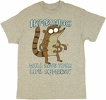 Regular Show Hamboning T Shirt
