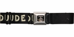 Regular Show Mordecai and Rigby Duude Seatbelt Mesh Belt