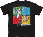 Regular Show Quote Squares Youth T Shirt