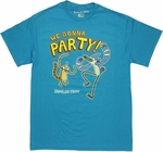Regular Show We Gonna Party T Shirt