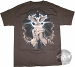 Religion Bird Over Hands T-Shirt