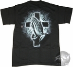 Religion Hands Cross T-Shirt
