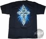 Religion Ornate Cross T-Shirt