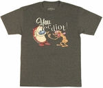 Ren and Stimpy You Eediot T Shirt