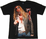 Rob Zombie Bloody T Shirt