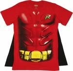 Robin Body Armor Cape T Shirt