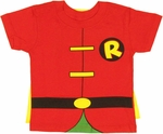 Robin Cape Toddler T Shirt