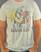 Robin Ride T Shirt Sheer