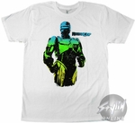 Robocop Colorful Suit T-Shirt Sheer