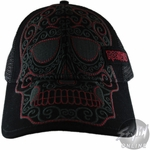 Rock Band Skull Hat