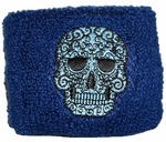Rock Band Skull Wristband