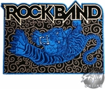 Rock Band Tiger Patch