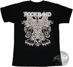 Rock Band Tigers T-Shirt Sheer