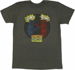 Rock Em Sock Em Robots BAM BOOM T Shirt Sheer